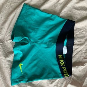 NWOT Nike Pro Spandex Shorts